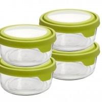 Anchor Hocking 7 Cup Round TrueSeal Food-Storage Set