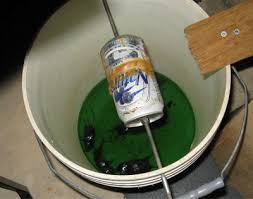 Bucket Homemade mouse trap