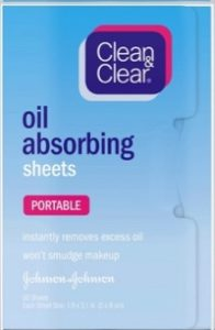Clean Clear Oil Absorbing sheets