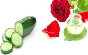 Cucumber Rose water