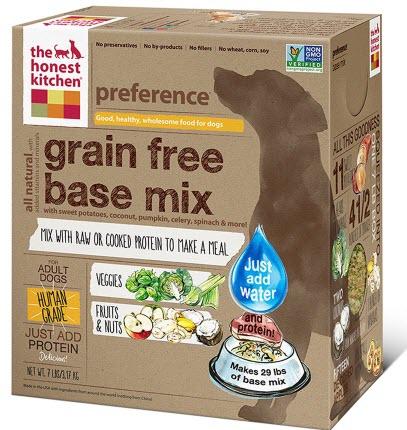 Honest Kitchen Grain free
