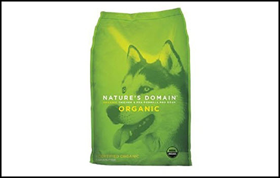 Kirkland Signature Nature's Domain Organic Chicken and Pea Dog Food