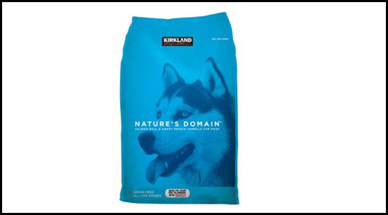 Kirkland Signature-Nature's Domain Salmon Meal & Sweet potato Dog Food