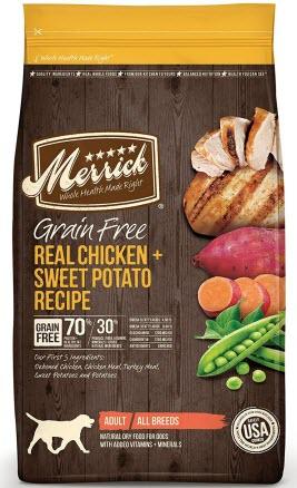Merrick Grain free