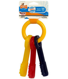 Puppy Key Ring(from Nylabone)