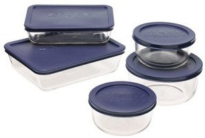 Pyrex Glass Food and Storage container