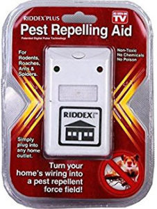 The Riddex Plus Plug & Go Pest Repeller System