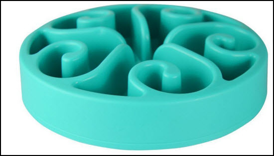 accmor slow feed dog bowl