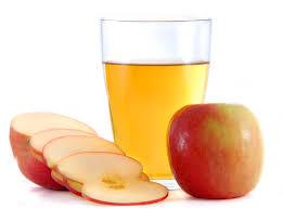 apple cider in a bowl