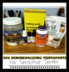 diy remineralizing toothpaste