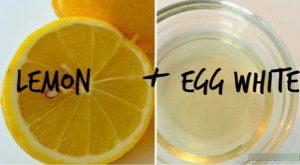 lemon egg white