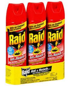 raid roach killer