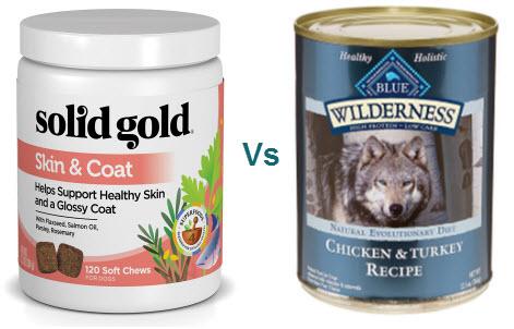 solid gold vs blue buffalo