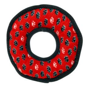 tuffy's red paw print ring