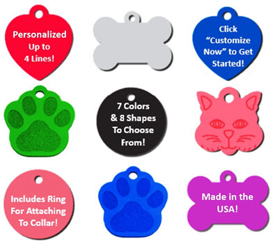 vet recommended pet id tags