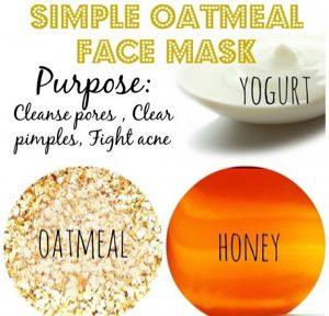 yogurt oatmeal honey